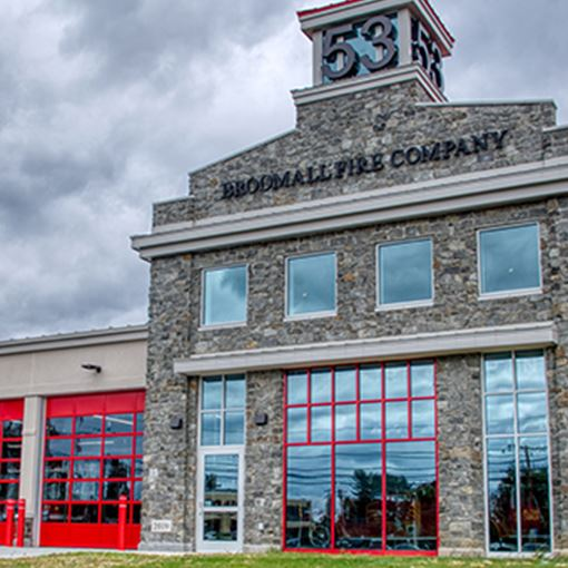 Broomall fire company building